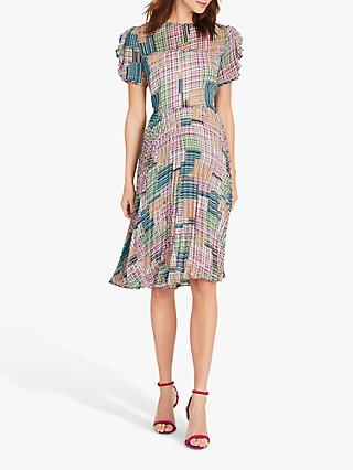 Damsel in a Dress Anastasia Abstract Print Knee Length Dress, Multi
