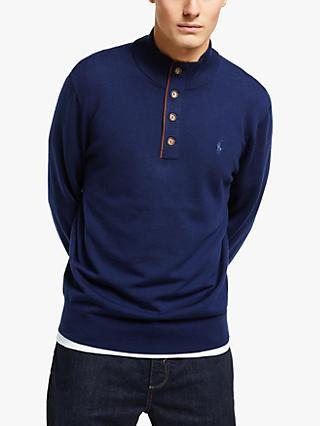 Polo Golf Ralph Lauren Merino Wool Buttoned Sweater