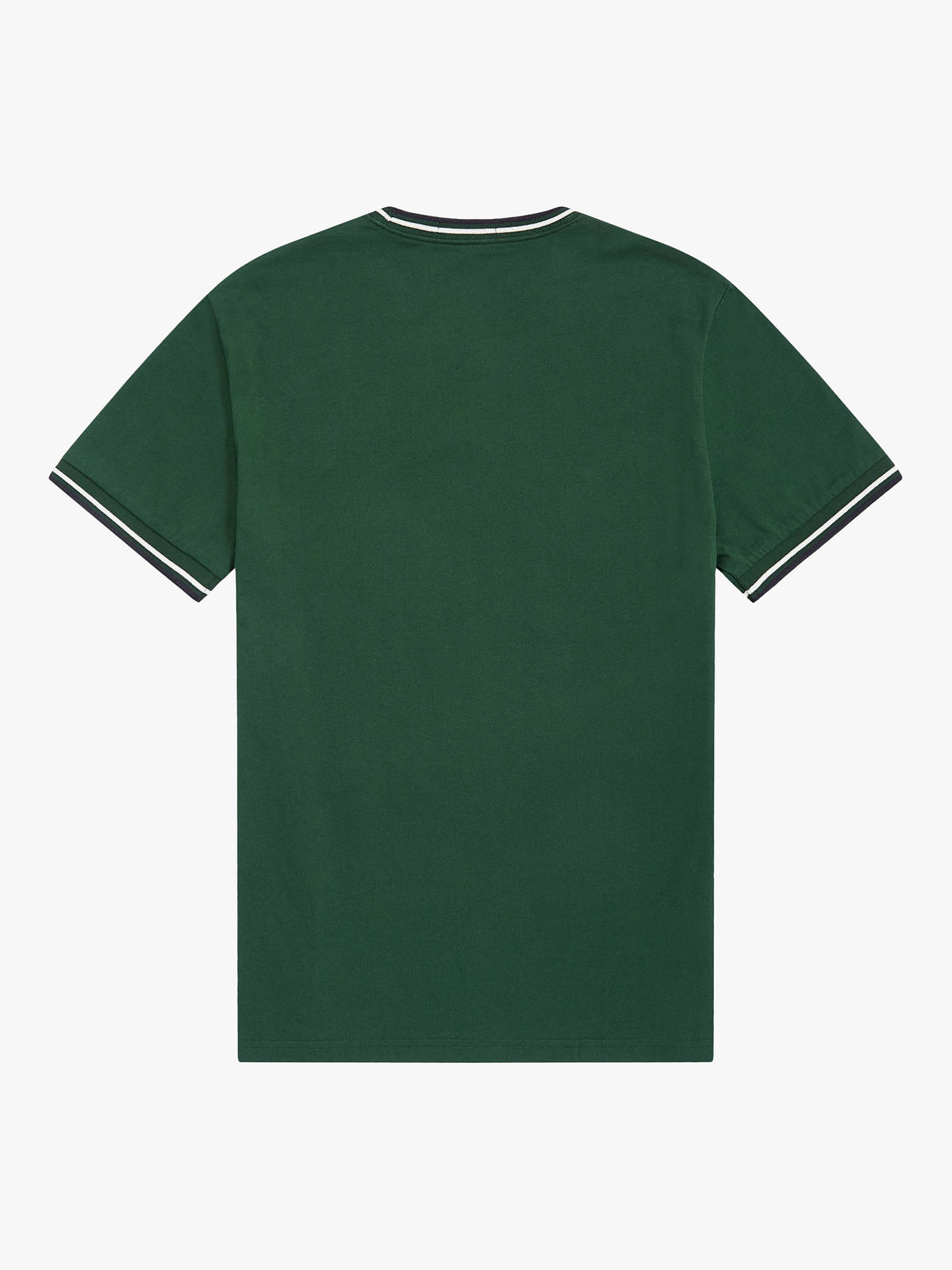 Buy Fred Perry Twin Tipped T-Shirt, Green A56, XXL Online at johnlewis.com