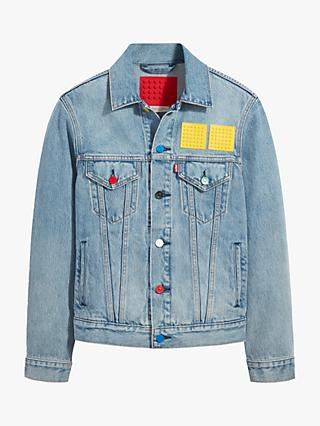 Levi's X LEGO Customisable Denim Trucker Jacket, Afol Trucker
