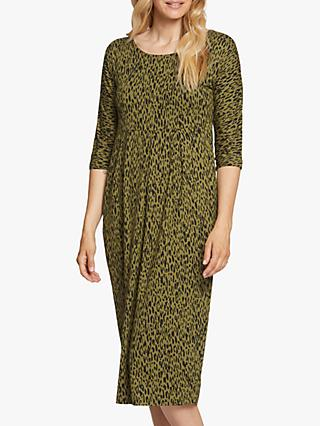 Masai Copenhagen Nima Animal Print Jersey Dress, Lizard