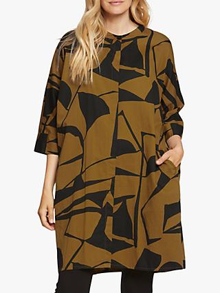 Masai Copenhagen Iosetta Abstract Print Dress, Tapenade