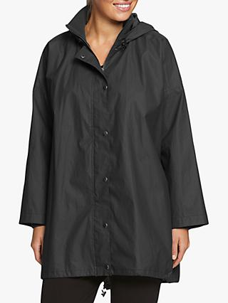 Masai Copenhagen Tona Waterproof Hooded Coat, Dark Grey