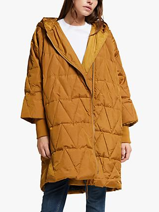 Masai Copenhagen Thyra Down Filled Coat, Yellow