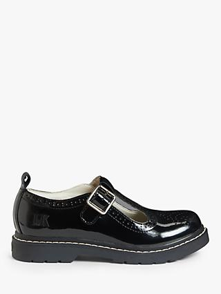 Lelli Kelly Children's Meryl Leather School Shoes, Black Patent