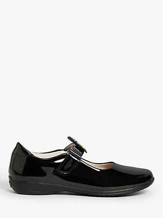 Lelli Kelly Children's Bonnie Mary Jane School Shoes, Black Patent