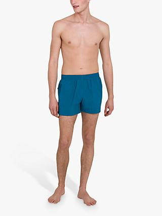 "Speedo Fitted Leisure 13"" Swim Shorts, Teal"