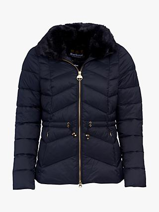 Barbour International Halfback Quilted Coat