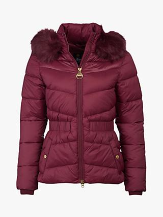 Barbour International Halfback Elasticated Waist Quilted Jacket