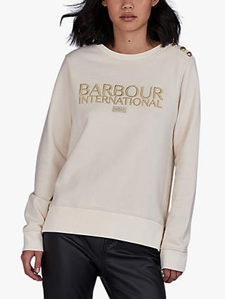 Barbour International Cadwell Sweatshirt, Natural