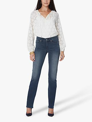 NYDJ Marilyn Straight Leg Jeans, Medium Blue