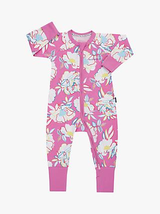 Bonds Baby Rainbow Flower Wondersuit, Pink