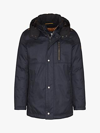 Bugatti Rainseries Hooded Parka Jacket, Charcoal