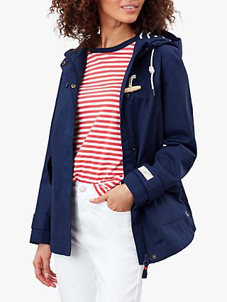 Joules Coast Mid Waterproof Coat, Navy