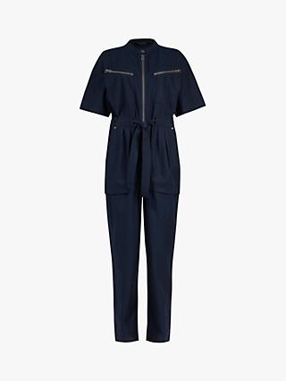 AllSaints Vola Short Sleeved Boiler Jumpsuit