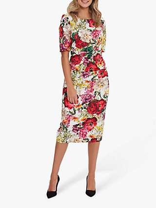 Gina Bacconi Cybil Dress, Multi