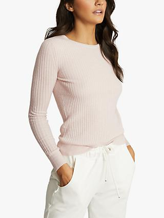 Reiss Michelle Wool Blend Knitted Top