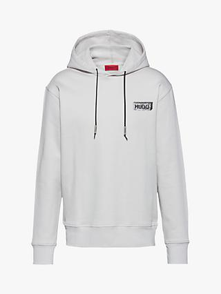 HUGO by Hugo Boss Downsville Oversized Hoodie, Light Beige