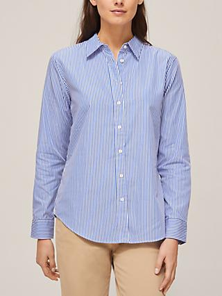 Lauren Ralph Lauren Jamelko Long Sleeve Shirt, Blue