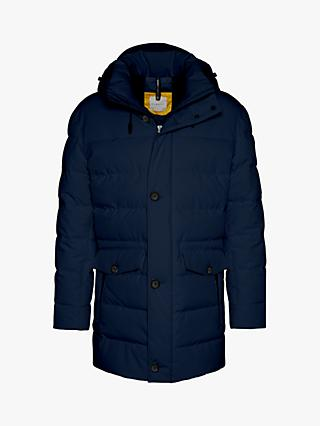 Bugatti Be Visible Parka Jacket, Navy