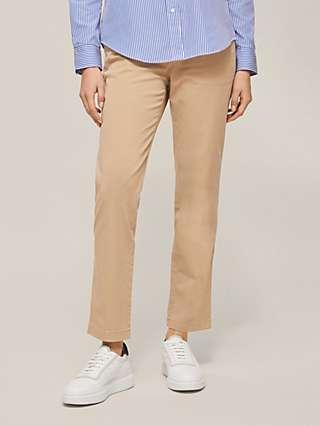 Lauren Ralph Lauren Gabby Slim Leg Trousers, Brown