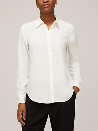 Lauren Ralph Lauren Kristy Long Sleeve Shirt, Oyster