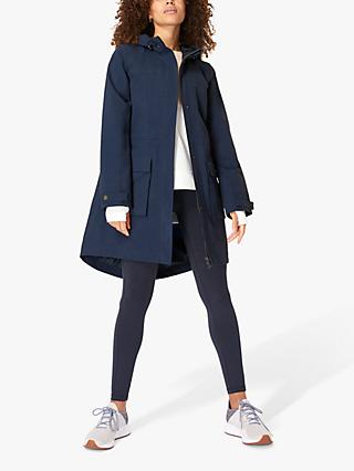 Sweaty Betty Waterproof Parka, Navy