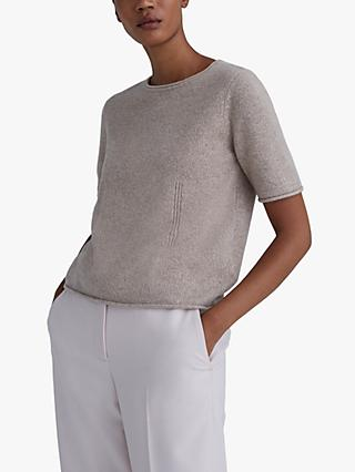 Club Monaco Cashmere Top, Taupe