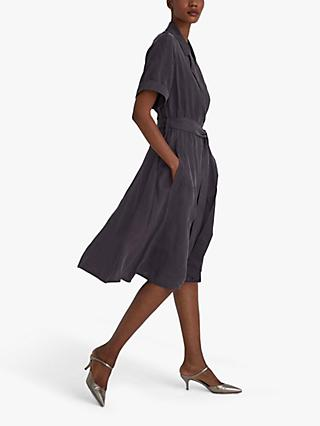 Club Monaco Trench Midi Dress, Brown