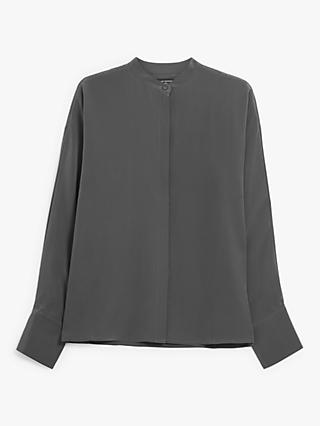 Club Monaco Pure Silk Dolman Shirt, Mole