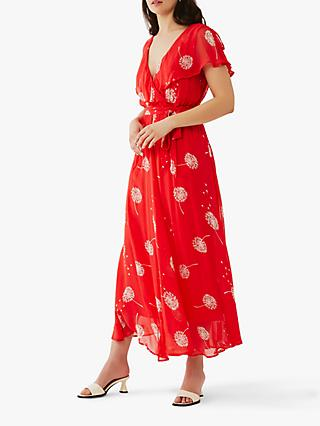 Ghost Lulie Floral Maxi Dress, Selina