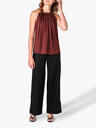 Jigsaw Draped Tie Neck Cami Top