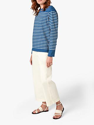 Jigsaw Breton Striped Sweatshirt