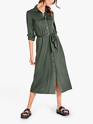 hush Kate Jersey Maxi Dress, Green