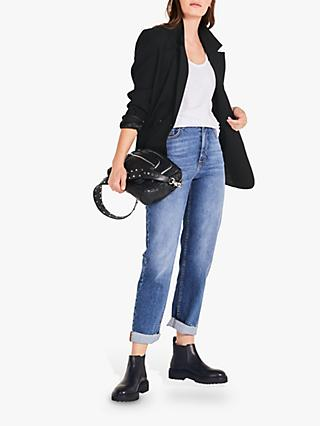 hush Lenny Straight Cropped Jeans