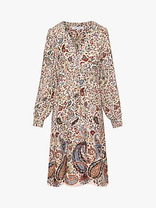 Gerard Darel Thess Paisley Print Dress, Beige/Multi