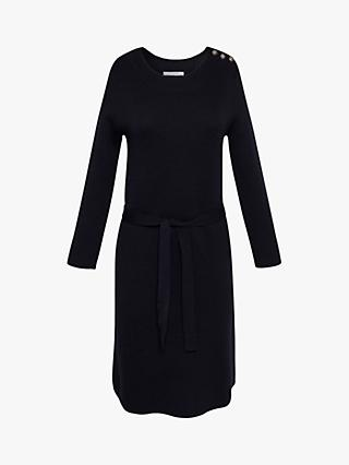 Gerard Darel Tylia Wool Blend Dress, Navy
