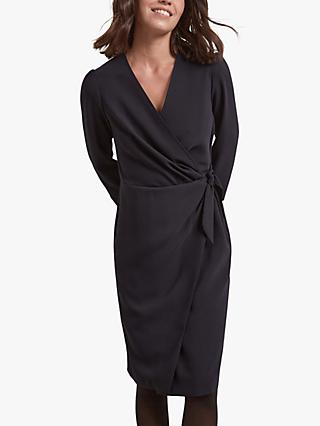 Gerard Darel Tya Wrap Dress, Blue