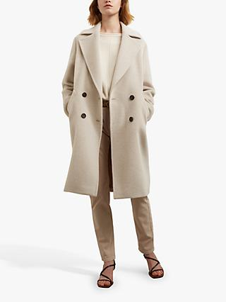 Gerard Darel Sandy Wool Blend Coat