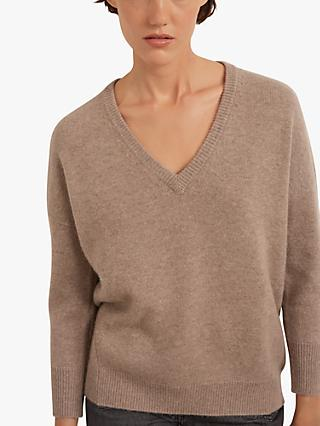 Gerard Darel Dally Cashmere V-Neck Pullover Jumper