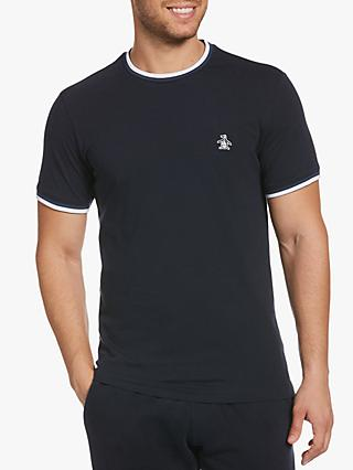 Original Penguin Sticker Pete Short Sleeve Crew Neck T-Shirt