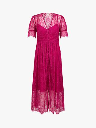 Monsoon Miranda Midi Lace Dress