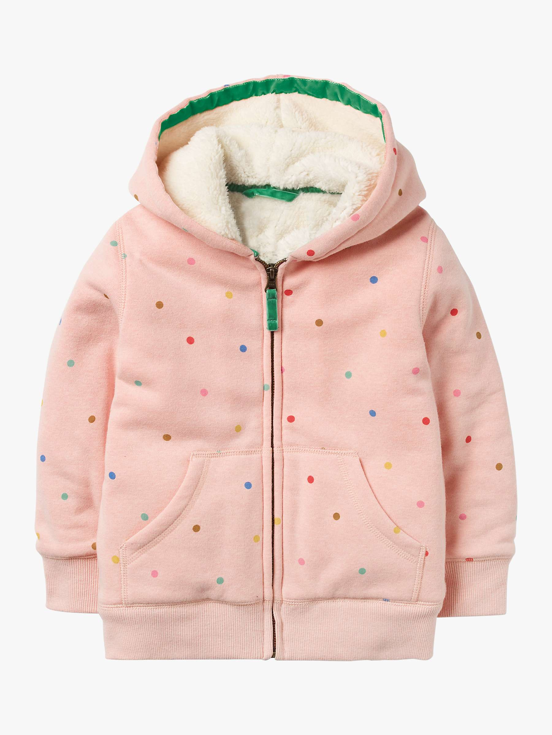 Mini Boden Girls' Printed Shaggy Lined