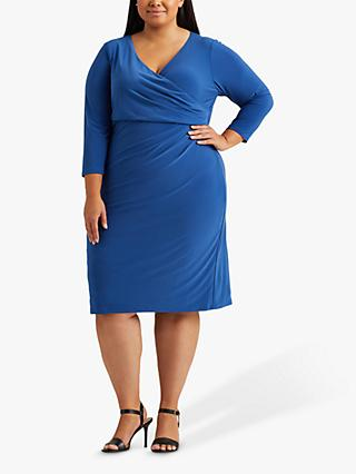 Lauren Ralph Lauren Curve Cleora Dress, Blue