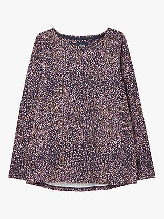 Joules Harbour Top, Navy Speck