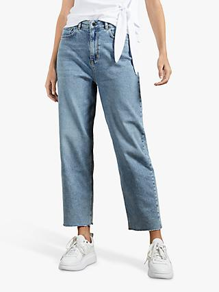 Ted Baker Kennidy Cropped Jeans, Blue