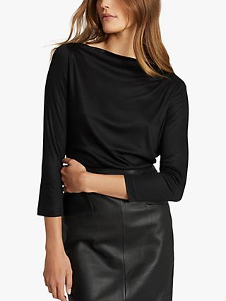 Reiss Faye Pleat Detail Blouse