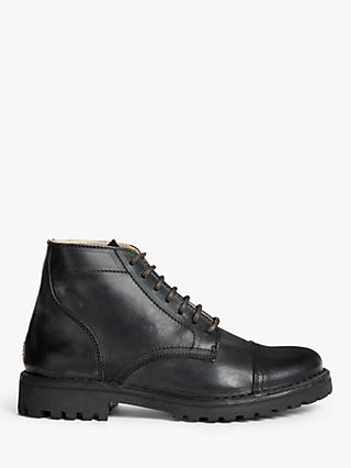 Astorflex Aldflex Leather Ankle Boots, Nero
