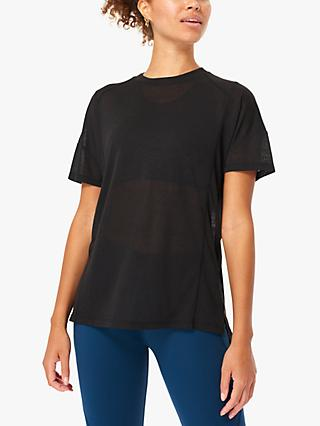 Sweaty Betty Flex Workout T-Shirt, Black