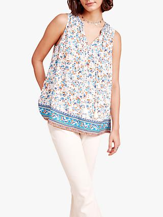 East Harley Floral Top, Ecru